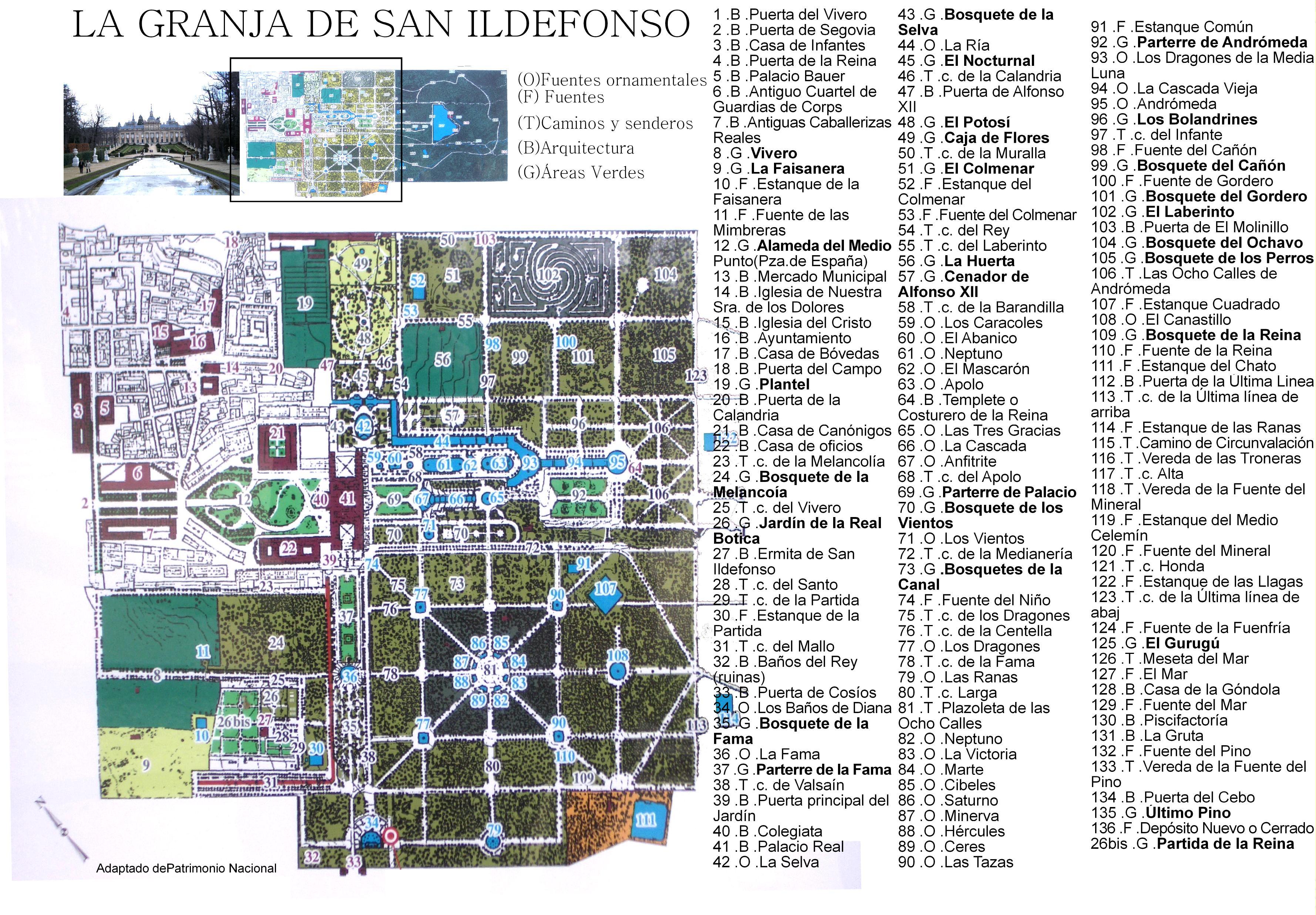 La granja de san ildefonso visitarb madrid es una for Jardines de san ildefonso